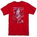 Betty Boop Shirt Boop Ball Red Tee T-Shirt
