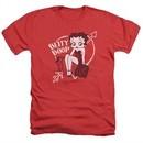 Betty Boop Shirt Lover Girl Heather Red T-Shirt