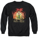 Betty Boop Sweatshirt Hulaboop Adult Black Sweat Shirt