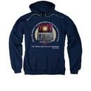 Beverly Hills Cop Hoodie Sweatshirt Nicest Police Car Navy Adult Hoody Sweat Shirt