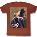 Bill And Ted Shirt Rockin Stallyns Heather Clay Tee T-Shirt