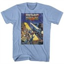Bionic Commando Shirt Cover Light Blue T-Shirt