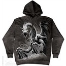 Black Dragon Hoodie Adult Hooded Sweatshirt Hoody