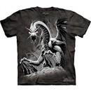 Black Dragon Shirt Tie Dye T-shirt Adult Tee