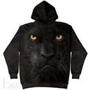 Black Panther Face Hoodie Tie Dye Adult Hooded Sweat Shirt Hoody