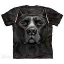 Black Pitbull Shirt Tie Dye Adult T-Shirt Tee