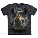 Black Rhino Shirt Tie Dye Adult T-Shirt Tee