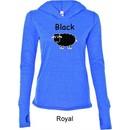 Black Sheep of the Family Funny Ladies Tri Blend Hoodie Shirt