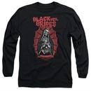 Black Veil Brides Long Sleeve Shirt Santa Muerte Black Tee T-Shirt