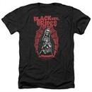 Black Veil Brides Shirt Santa Muerte Heather Black T-Shirt