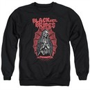 Black Veil Brides Sweatshirt Santa Muerte Adult Black Sweat Shirt