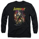 Bloodshot Shirt Comic Long Sleeve Black Tee T-Shirt