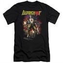 Bloodshot Shirt Slim Fit Comic Black T-Shirt