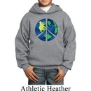 Blue Earth Peace Kids Hoody