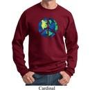 Blue Earth Peace Sweatshirt