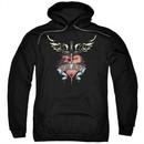 Bon Jovi Hoodie Daggered Black Sweatshirt Hoody