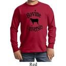 Bovine University Kids Long Sleeve Shirt