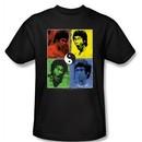 Bruce Lee Kids T-shirt Youth Enter Color Block Black