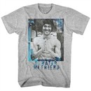 Bruce Lee Shirt Be Water My Friend Athletic Heather T-Shirt