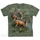 Buck Collage Shirt Tie Dye Adult T-Shirt Tee