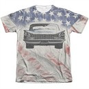 Buick Shirt 1959 Electra Flag Poly/Cotton Sublimation T-Shirt