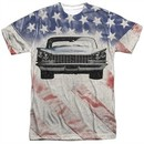 Buick Shirt 1959 Electra Flag Sublimation T-Shirt Front/Back Print