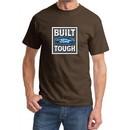 Built Ford Tough Shirt Ford Logo Mens Brown Tee T-Shirt