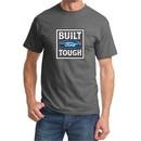 Built Ford Tough Shirt Ford Logo Mens Charcoal Tee T-Shirt