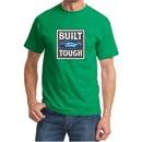 Built Ford Tough Shirt Ford Logo Mens Kelly Green Tee T-Shirt