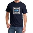 Built Ford Tough Shirt Ford Logo Mens Navy Tee T-Shirt