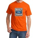 Built Ford Tough Shirt Ford Logo Mens Orange Tee T-Shirt
