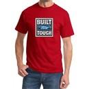 Built Ford Tough Shirt Ford Logo Mens Red Tee T-Shirt
