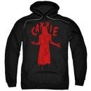 Carrie Hoodie Silhouette Black Sweatshirt Hoody
