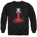 Carrie Sweatshirt Bucket Of Blood Adult Black Sweat Shirt