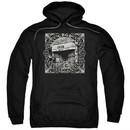 CBGB Hoodie Front Door Black Sweatshirt Hoody