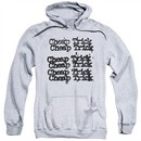 Cheap Trick Hoodie Logo Athletic Heather Sweatshirt Hoody