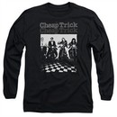 Cheap Trick Long Sleeve Shirt Bikes Black Tee T-Shirt