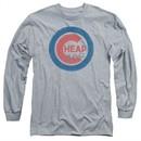 Cheap Trick Long Sleeve Shirt Cub 3 Athletic Heather Tee T-Shirt
