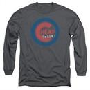 Cheap Trick Long Sleeve Shirt Cub Charcoal Tee T-Shirt