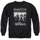 Cheap Trick Sweatshirt Bikes Adult Black Sweat Shirt