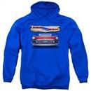 Chevy Hoodie 1957 Bel Air Grille Royal Blue Sweatshirt Hoody