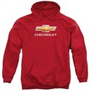 Chevy Hoodie Bow Tie Red Sweatshirt Hoody