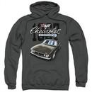 Chevy Hoodie Chevrolet Classic Camaro Charcoal Sweatshirt Hoody