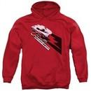 Chevy Hoodie Split Window Stingray Red Sweatshirt Hoody