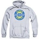 Chevy Hoodie Super Service Athletic Heather Sweatshirt Hoody