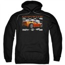 Chevy Hoodie ZO6 checkered Black Sweatshirt Hoody