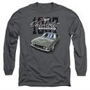 Chevy Long Sleeve Shirt Chevrolet 1967 Classic Camaro Charcoal Tee T-Shirt