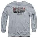 Chevy Long Sleeve Shirt El Camino SS Sports Grey Tee T-Shirt