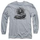 Chevy Long Sleeve Shirt Monte Carlo Sports Grey Tee T-Shirt