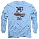 Chevy Long Sleeve Shirt Vega Woody Light Blue Tee T-Shirt